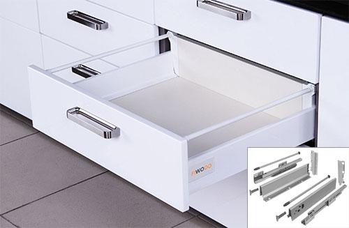 Küche Einbauküche Küchenzeile 300cm modern weiss