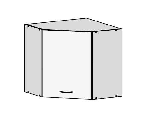 Küchenschrank: GNWU/57 Eckhängeschrank - Küchenkollektion Junona ...
