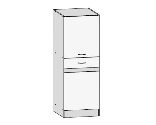 Küchenschrank: VS-50/139-KL Vorratsschrank - Küchenkollektion Junona ...