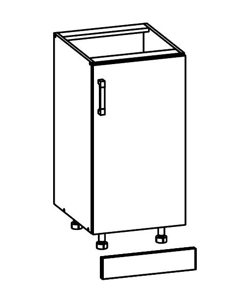 Fabulous Küchenschrank: FLD-40/82 Unterschrank - Küchenkollektion Modern QY21