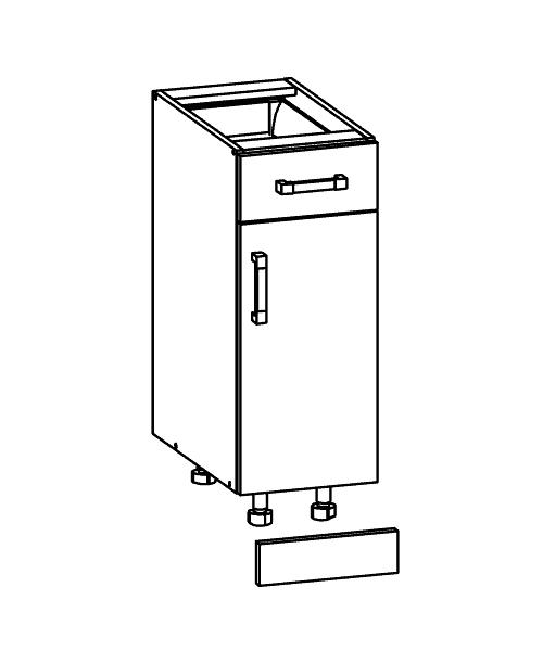 Küchenschrank D1s 3082 S Schubschrank Küchenkollektion Modern