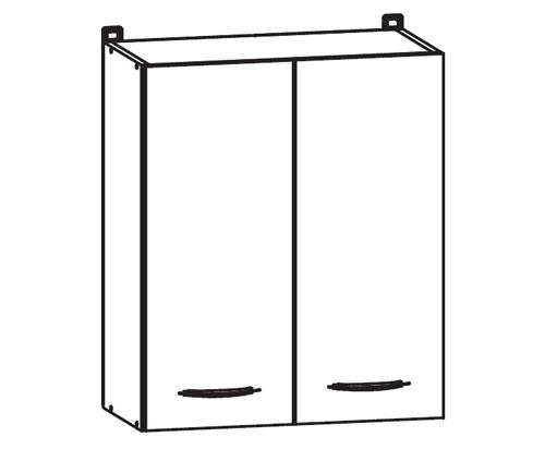 k chenschrank nkg 60 72 l p h ngeschrank. Black Bedroom Furniture Sets. Home Design Ideas