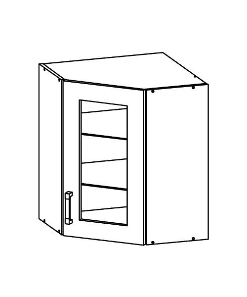 große Einbauküche Küche 420cm mit Hochschränken - modern grau ... | {Eckschrank küche maße 81}