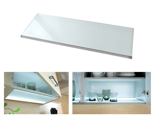Modern Family Line   LED Glasboden LUMINA 60