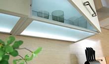 k chenzubeh r led glasboden lumina 80 f r 80cm. Black Bedroom Furniture Sets. Home Design Ideas