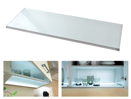 Modern Family Line   LED Glasboden LUMINA 80