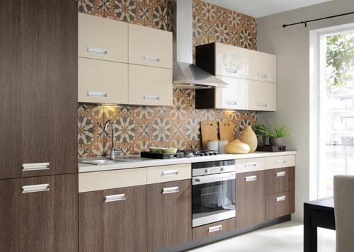 Küchenzeile modern  Küche Einbauküche Küchenzeile 300cm - modern weiss hochglanz ...
