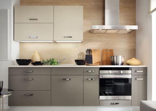 Küche Einbauküche Küchenzeile 300cm - modern weiss hochglanz ...