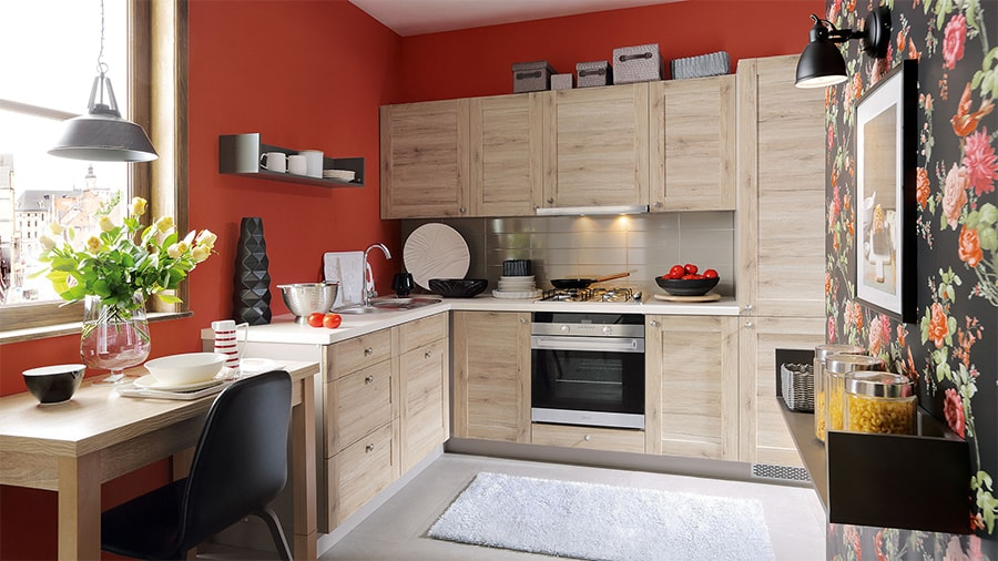 Küche REPASO EICHE HELL - Küchenkollektion Modern Family Line ...